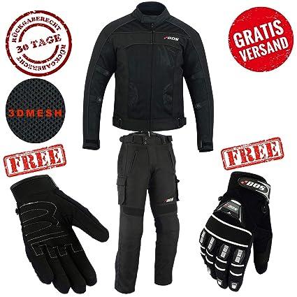 BOSMoto Traje de motorista textil combinado chaqueta ...