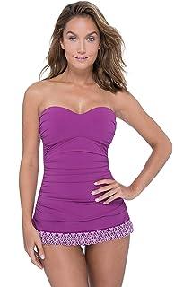43bdceca58525 Profile by Gottex Women's Cup Sized Sweetheart Swimdress One Piece ...