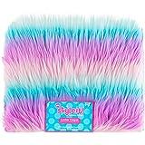 3C4G Fun Fur Locker Carpet, Iridescent