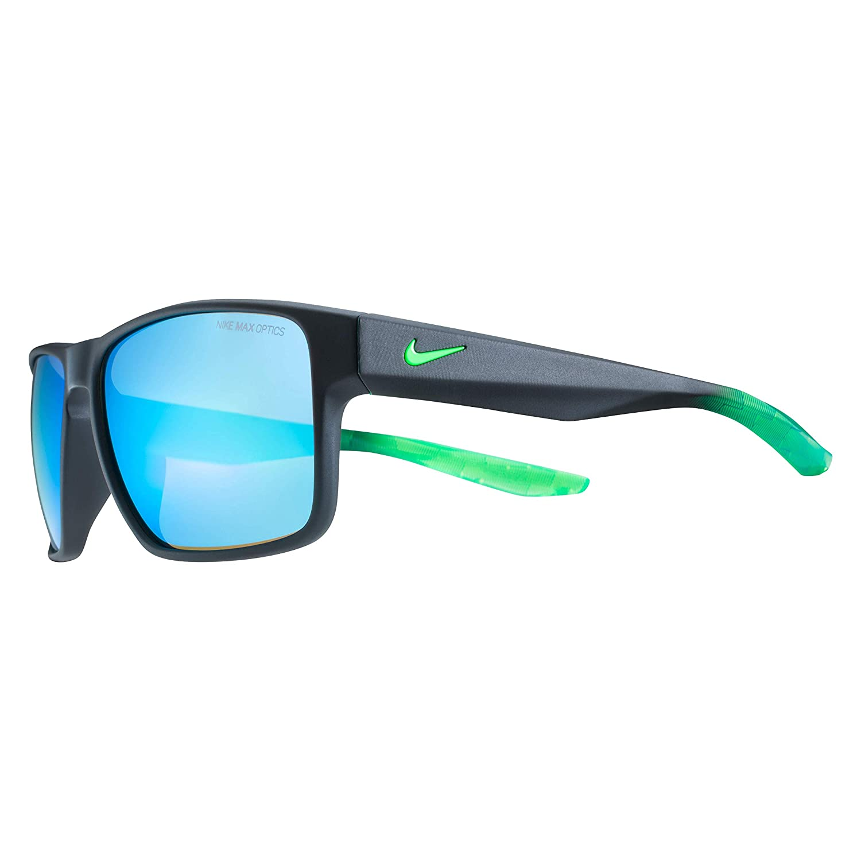 dc149a253e1d Amazon.com: Nike Men's Essential Venture M Square Sunglasses, Clear, 59 mm:  Clothing