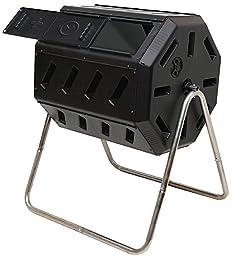prepare compost in tumbler