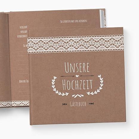 glupspilz   Gästebuch Hochzeit   mit Fragen zum Ausfüllen   Vintage