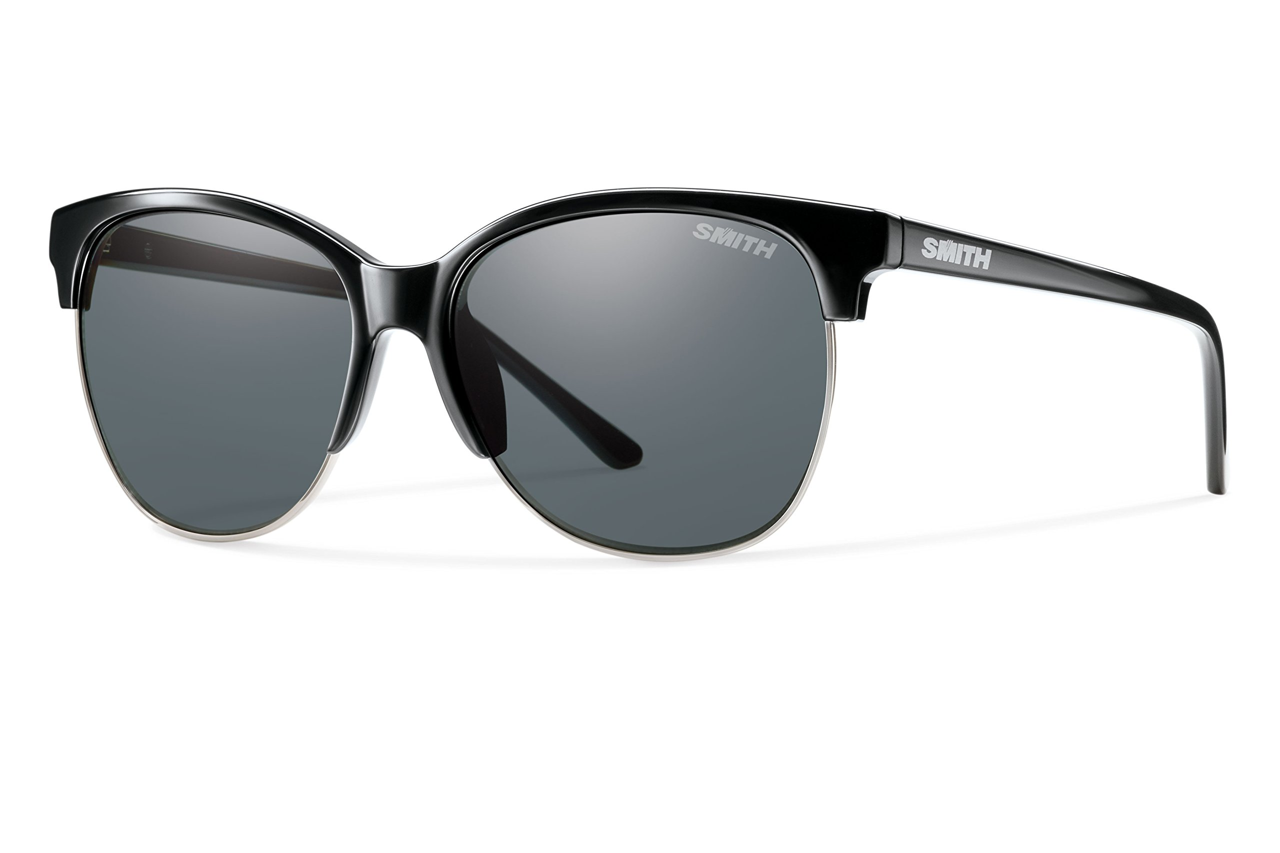 Smith Optics Rebel Carbonic Polarized Sunglasses, Black, Gray by Smith Optics