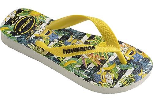 9e5c6aee23b2 Havaianas Minions White Yellow Citrus Flip Flop  Amazon.it  Scarpe e borse