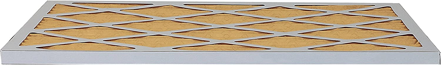 Gold Pack of 2 Filters FilterBuy 12x12x1 MERV 11 Pleated AC Furnace Air Filter, 12x12x1