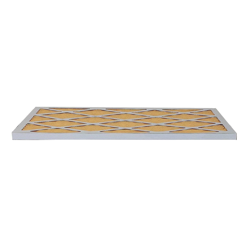FilterBuy AFB Gold MERV 11 16x25x1 Pleated AC Furnace Air Filter, Pack of 6 AFB16x25x1M11pk6