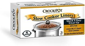 4PK Crock Pot Liner