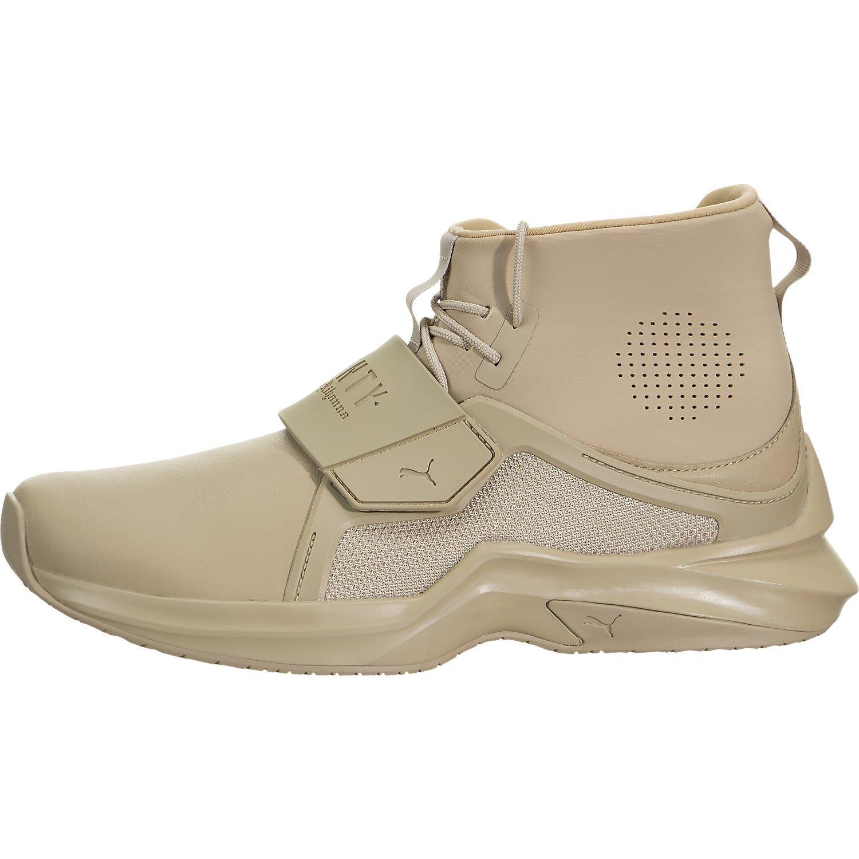 PUMA Women's Fenty x High Top Trainer Sneakers, Sesame, 5.5 B(M) US