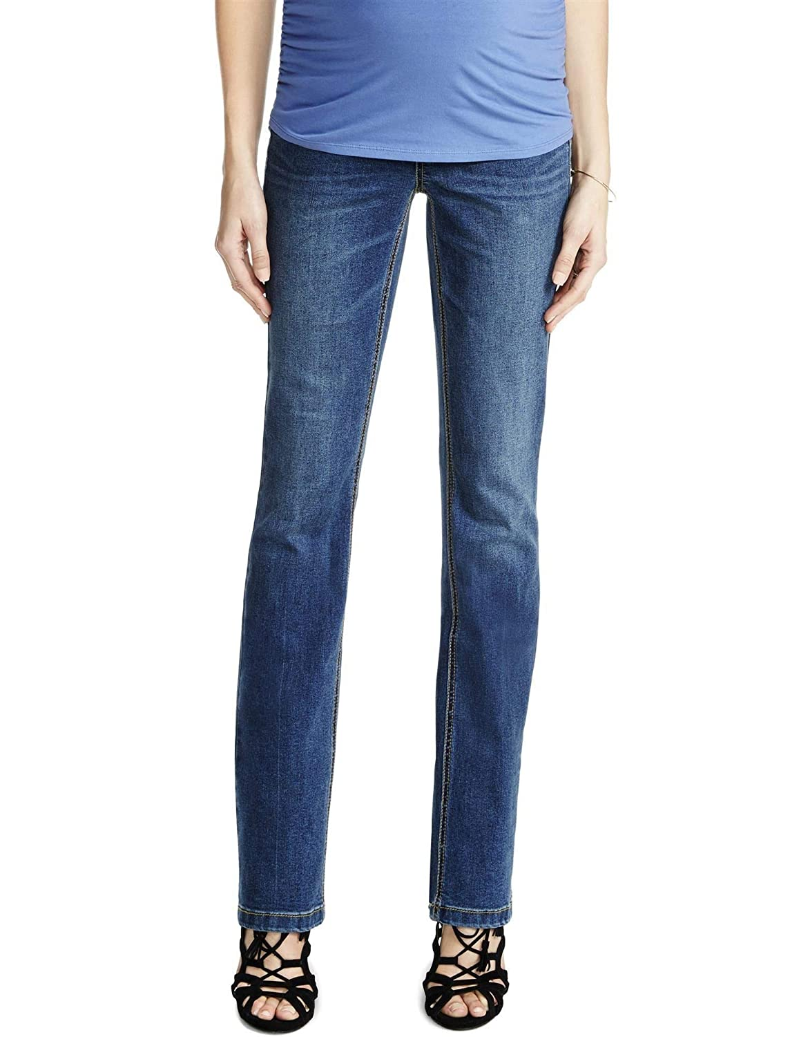 59c3c9fdb06d3 Jessica Simpson Secret Fit Belly Skinny Boot Maternity Jeans at Amazon  Women's Clothing store: