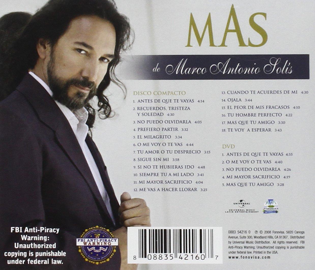 MAS de Marco Antonio Solis