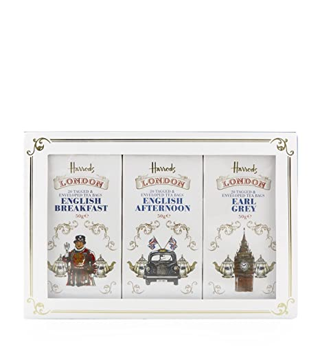 HARRODS of London - Triple Tea Gift Pack (3 x 20 bolsas de ...