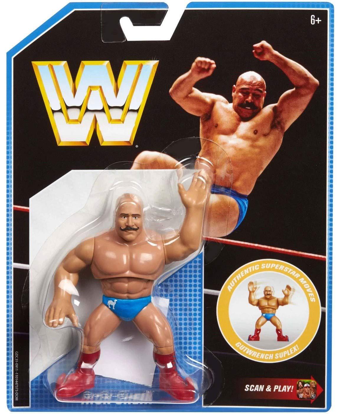 4.5 4.5 Mattel GDC31 WWE Retro App Iron Shiek Figure