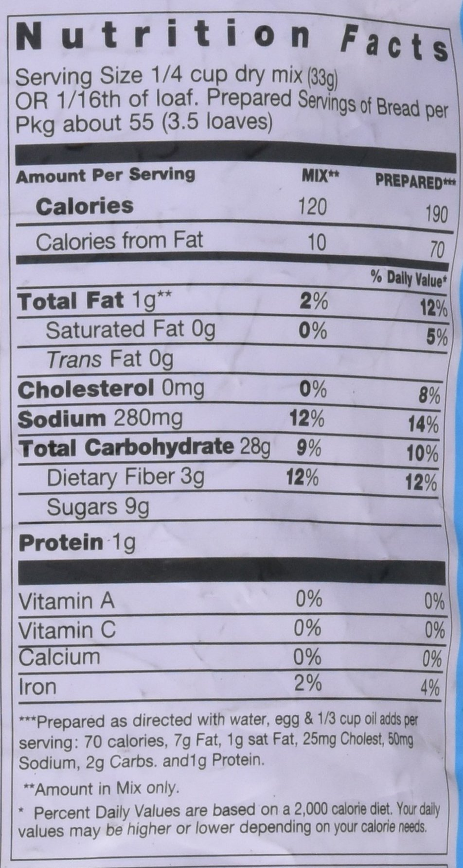 Pamela's Products Amazing Gluten-free Bread Mix, 4-Pound Bag by Pamela's Products (Image #2)