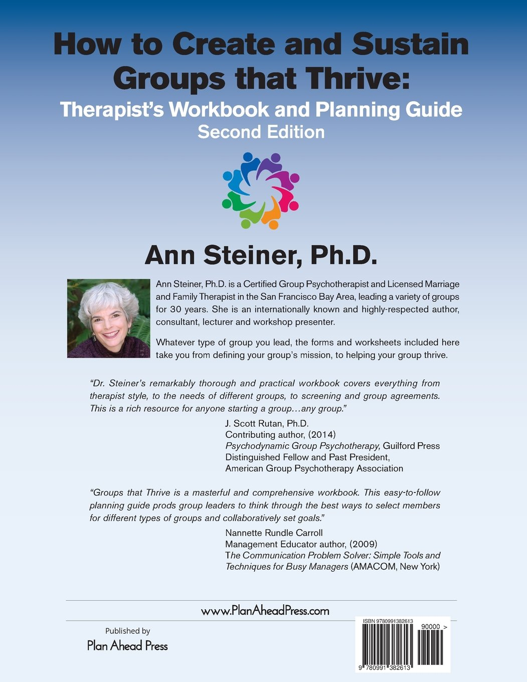 How to Create and Sustain Groups that Thrive: Therapist\'s Workbook ...