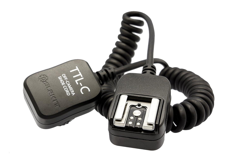 ガジェットPlace TTLフラッシュケーブルfor Canon EOS m3 / m2 / M B00ZVY5SPW