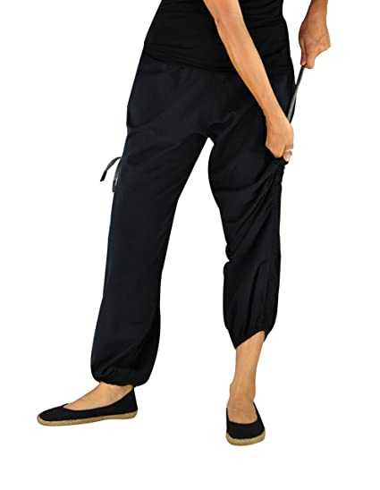 f9047b0139 virblatt Harem Pants Ladies and Men Aladdin Pants Hippie Pants - Praktisch  bk: Amazon.co.uk: Clothing