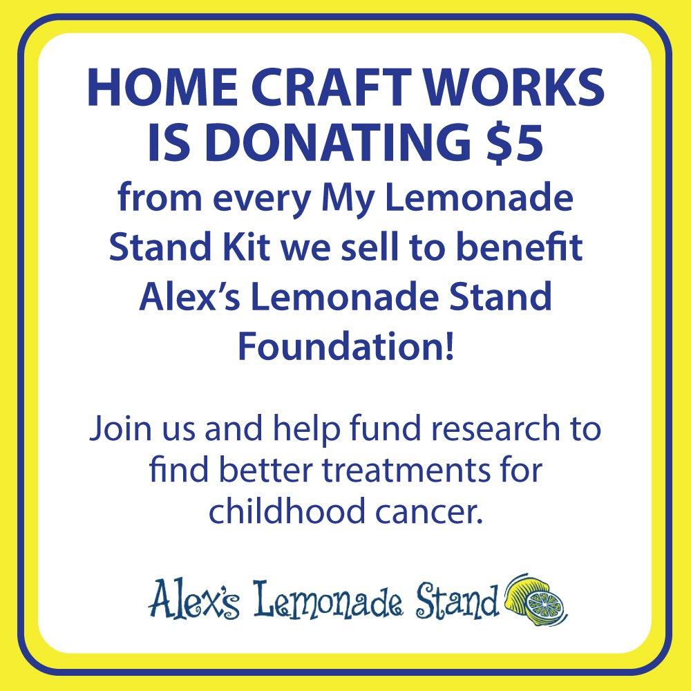 Home Craft Works 20035 My Stand Lemonade Kit