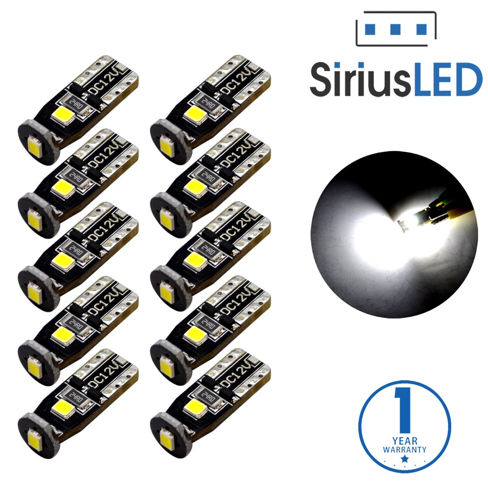 SiriusLED Extremely Bright 3030 Chipset LED Bulbs for Car Interior Dome Map Door Courtesy License Plate  sc 1 st  Amazon.com & Lights u0026 Lighting Accessories | Amazon.com azcodes.com