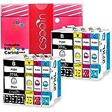 Cseein 8x Replacement 27XL Cartouches d'encre Grande Capacité Compatible avec Epson Workforce WF 3620 3640 7610 7620 7110 Imprimante (2 Noir 2 Cyan 2 Magenta 2 Jaune)
