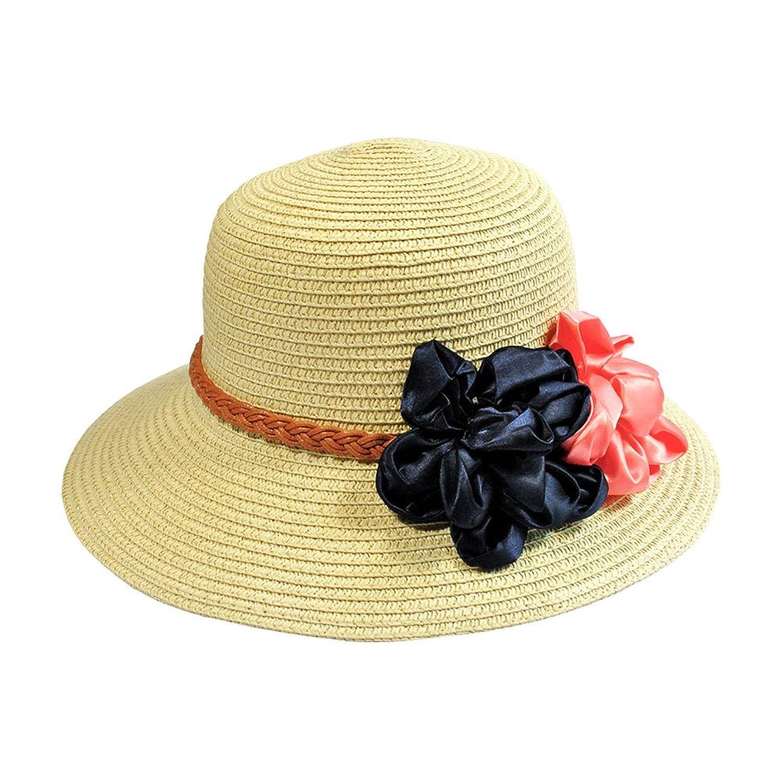 Mlotus Women's Summer Wide Brim Beach Straw Hats Visor Sexy Floppy Sun Hat Caps