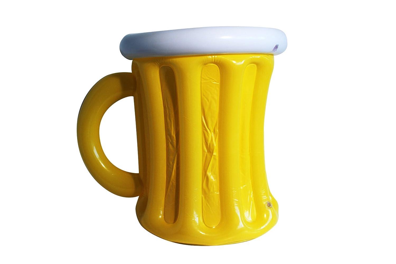 COOLMP Juego de 12 jarras hinchables de Cerveza, tamaño único ...