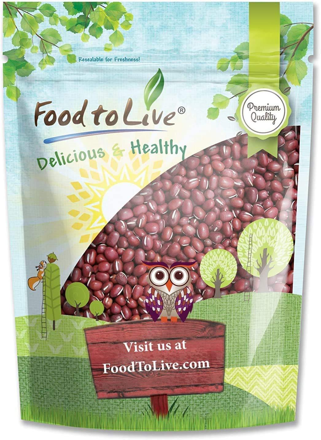 Adzuki Beans, 8 Ounces - Dried, Bulk