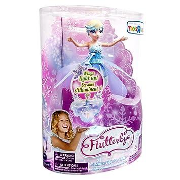 Amazon Flutterbye Flying Fairy Doll Snowflake Fairy Toys Games