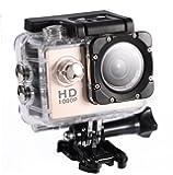 Acogedor スポーツカメラ ミニDVスポーツカメラ 防水性と耐久性に優れる 軽量で持ち運び便利 操作が簡単 多言語 6色