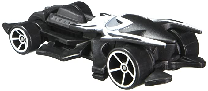Amazon.com: Hot Wheels, Marvel Character Car, Spider-Man Black Costume #22, 1:64 Scale: Toys & Games