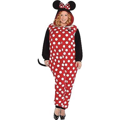 Amazon.com: Disfraz de Minnie Mouse de una sola pieza para ...
