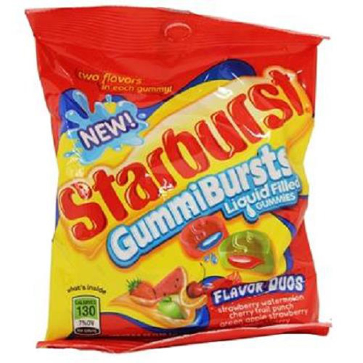 Product Of Starburst, Gummibursts Duos, Count 12 (6 oz) - Sugar Candy / Grab Varieties & Flavors by Product Of Starburst