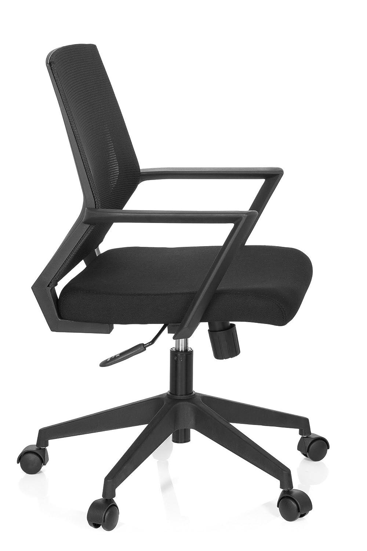 hjh OFFICE 732000 silla de oficina STARTEC BAI100 tejido de malla negro silla escritorio: Amazon.es: Hogar