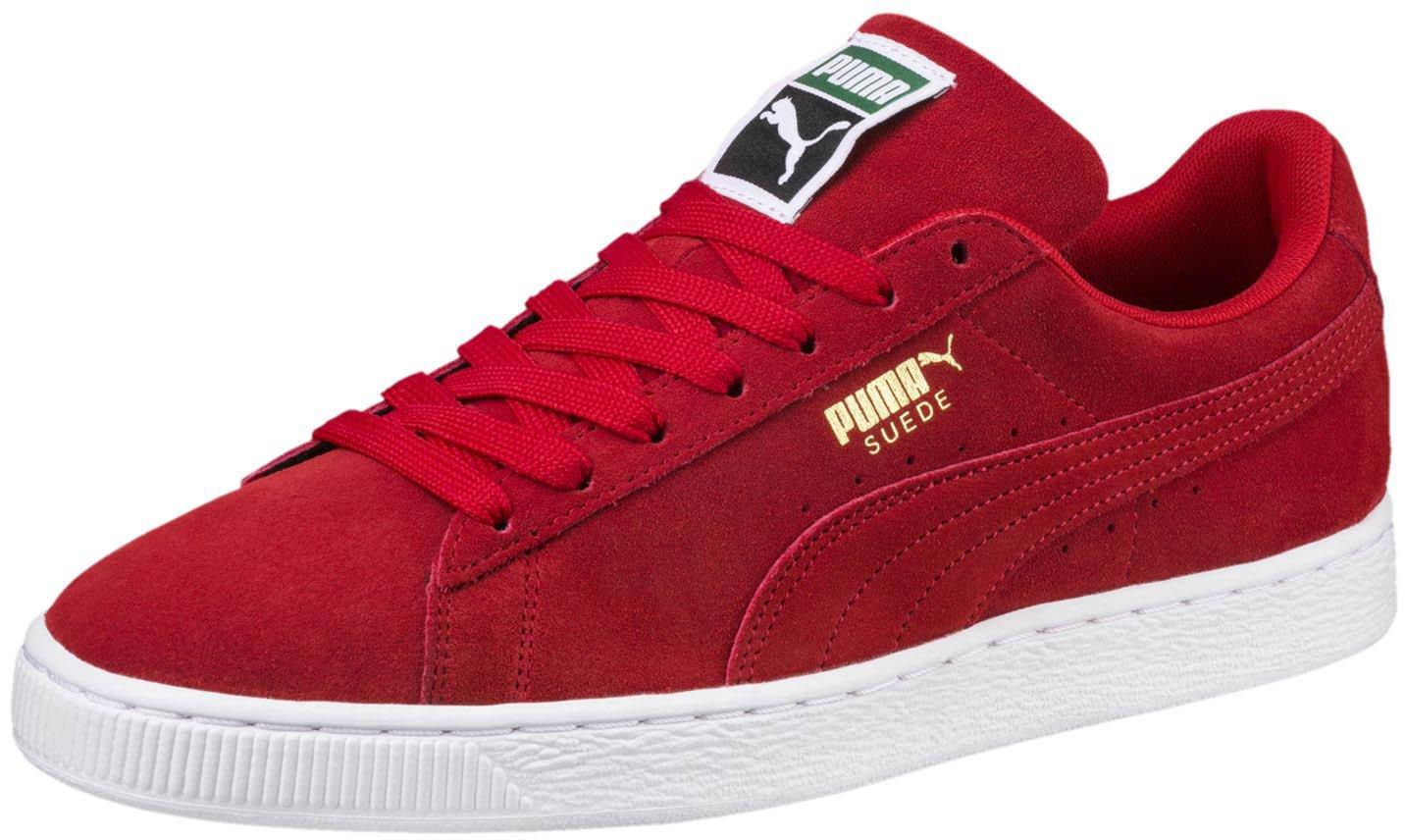 [プーマ] スニーカー SUEDE CLASSIC+ 352634 B072N61XXK 10 D(M) US ハイリスクレッド/ホワイト (High Risk Red/White) ハイリスクレッド/ホワイト (High Risk Red/White) 10 D(M) US