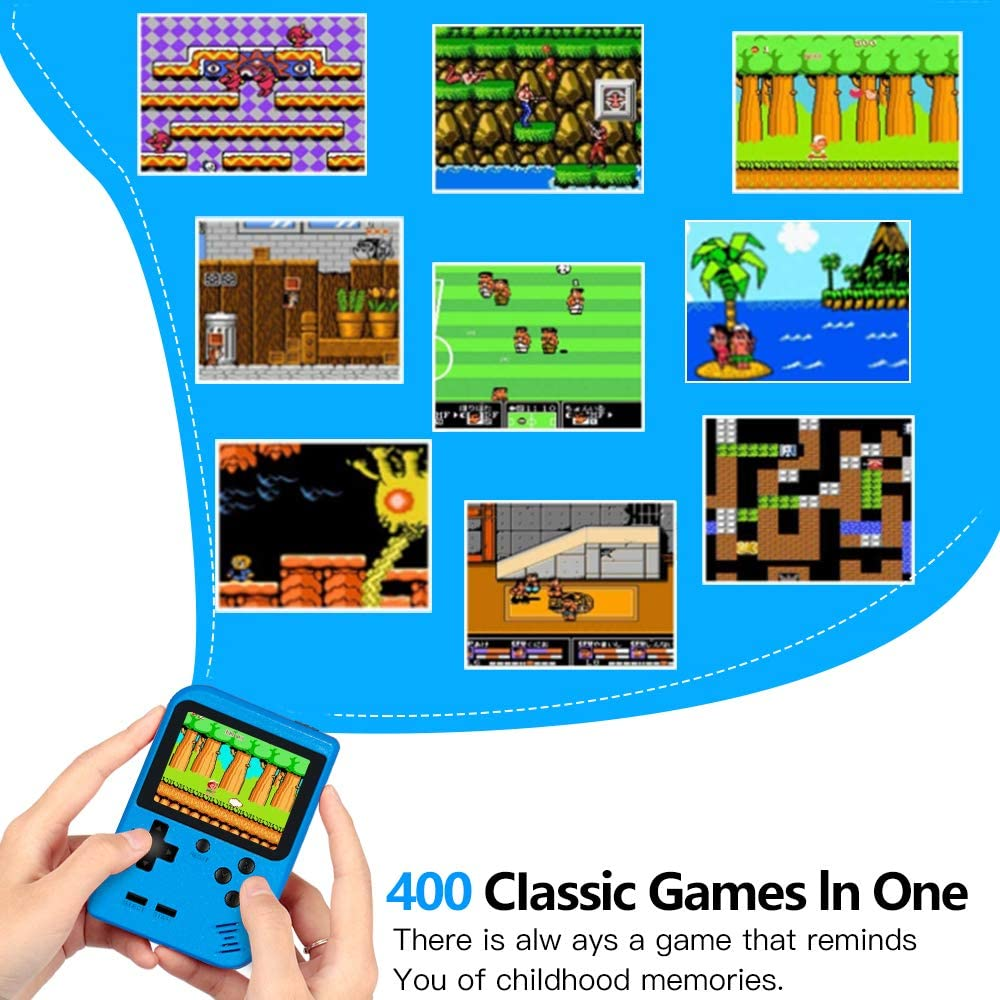 Retro Mini Game Player with 400 Classical FC Gam