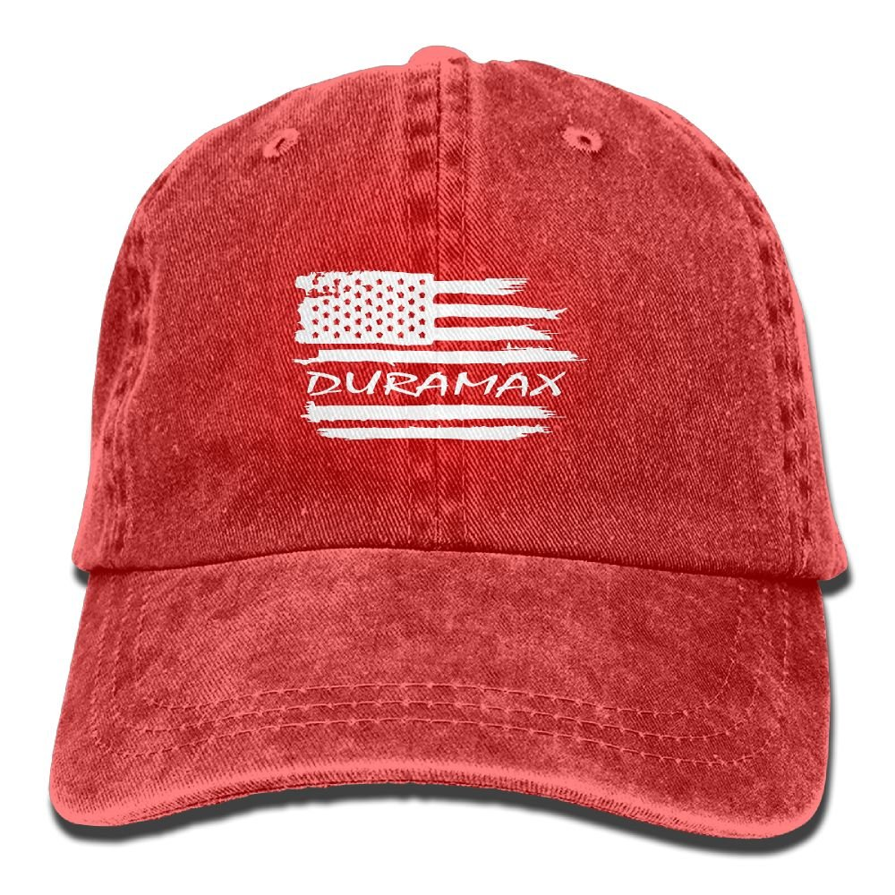 NHproducts American Flag Duramax Adjustable Cowboy Hat Baseball Hats
