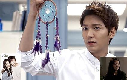 Korean Drama the heirs Lee minho dream catcher handmade+ the heirs drama  photo/postcard Lee Min ho Park Shin hye Luck charm romantic Chrismas gift