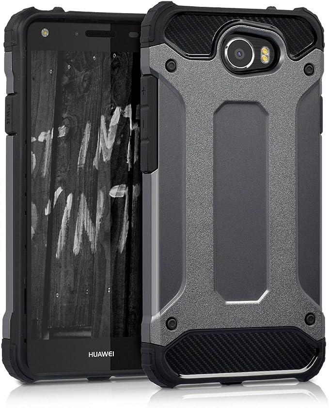 kwmobile Funda para Huawei Y5 II (2016) - Carcasa híbrida de TPU ...
