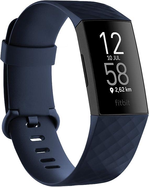 Fitbit Charge 4 Pulsera de actividad premium con GPS integrado, sumergible hasta 50m y 7 dias de batería