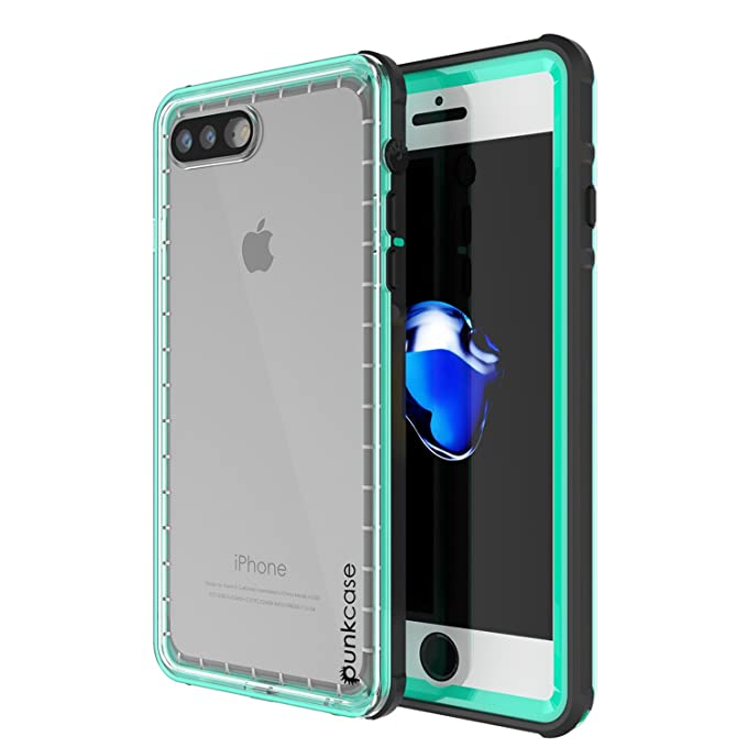 on sale 3d4c0 eece6 Amazon.com: iPhone 8 PLUS Case, PUNKCase [CRYSTAL SERIES] Protective ...