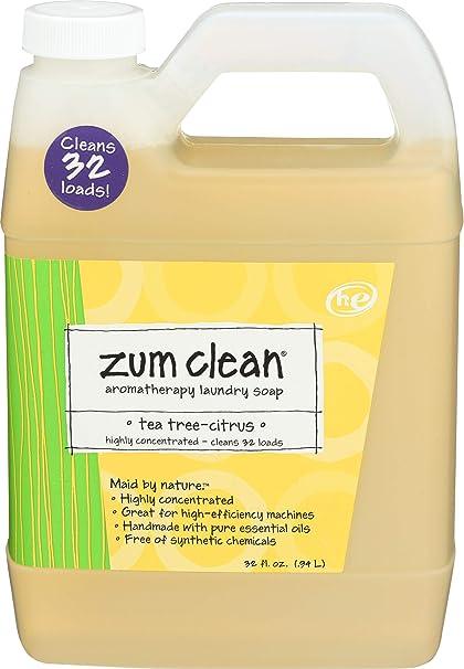 Amazon Com Indigo Wild Zum Clean Laundry Soap Tea Tree Citrus