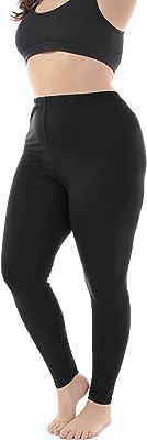 ZERDOCEAN Women's Plus Size Modal Lightweight Full Length Leggings