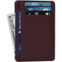Leather Wallets for Women RFID Blocking Slim Small Designer Card Holder Wallet