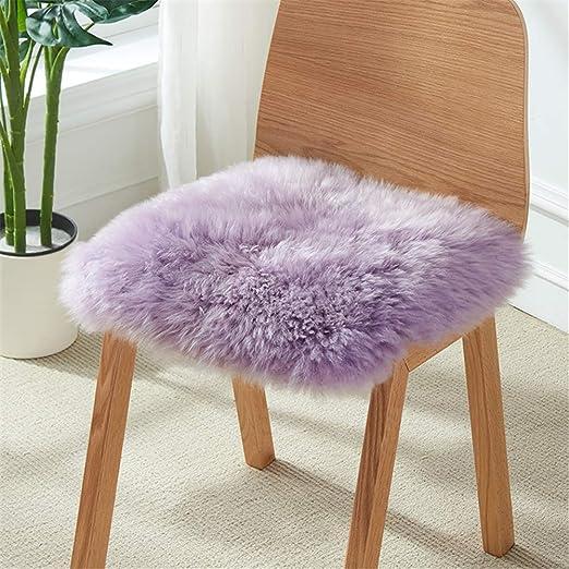 Cubierta de la silla cojín del asiento, suave para la lana ...
