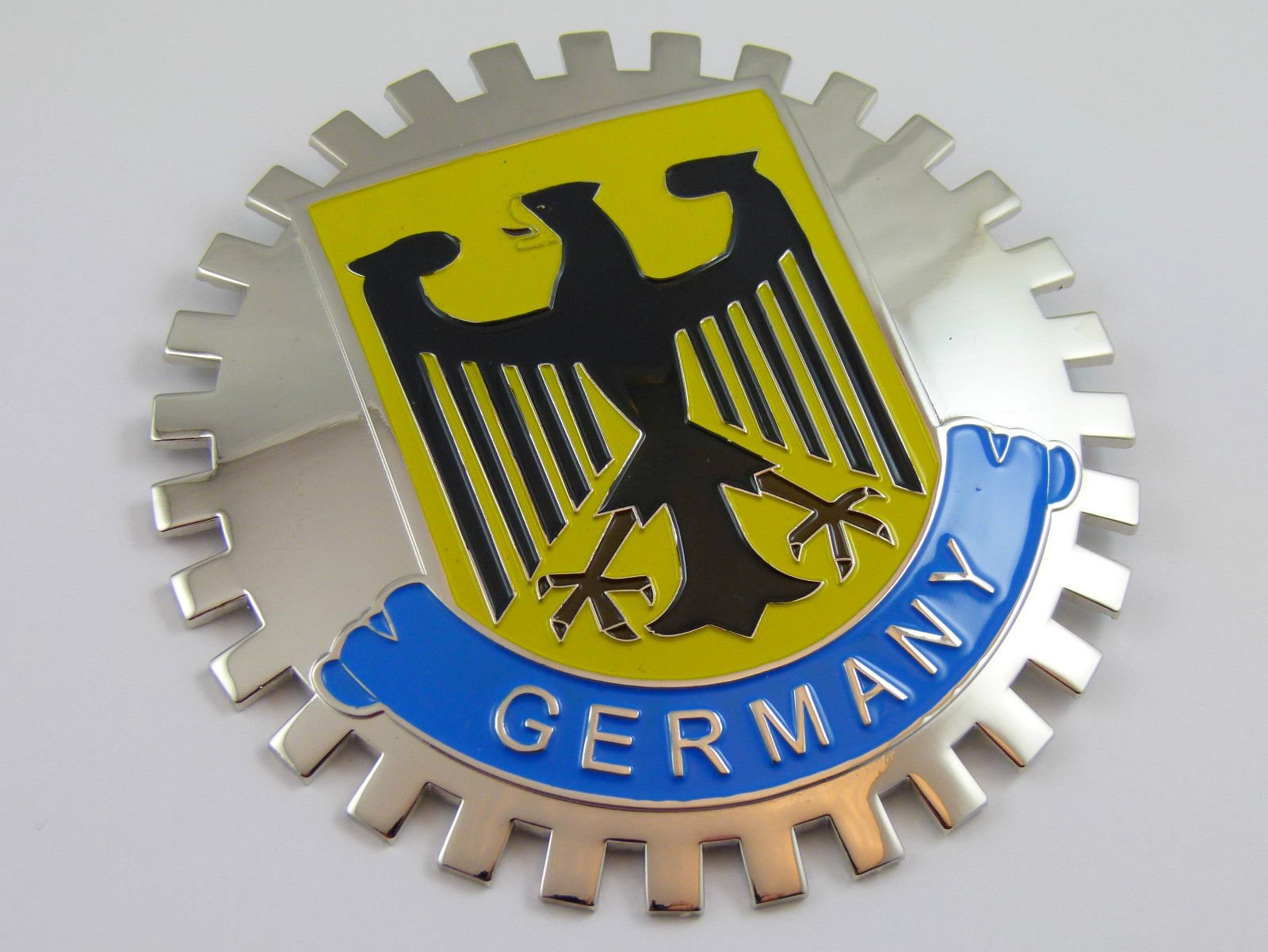 Aplique Parrilla Grille Badge Aleman Alemania Alemania Deuts