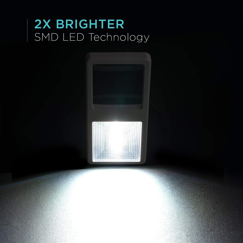 Lente di Ingrandimento Portatile per Leggere Caratteri Piccoli in Movimento Juno 2x Lente Ingrandimento Tascabile con Luce LED e Torcia