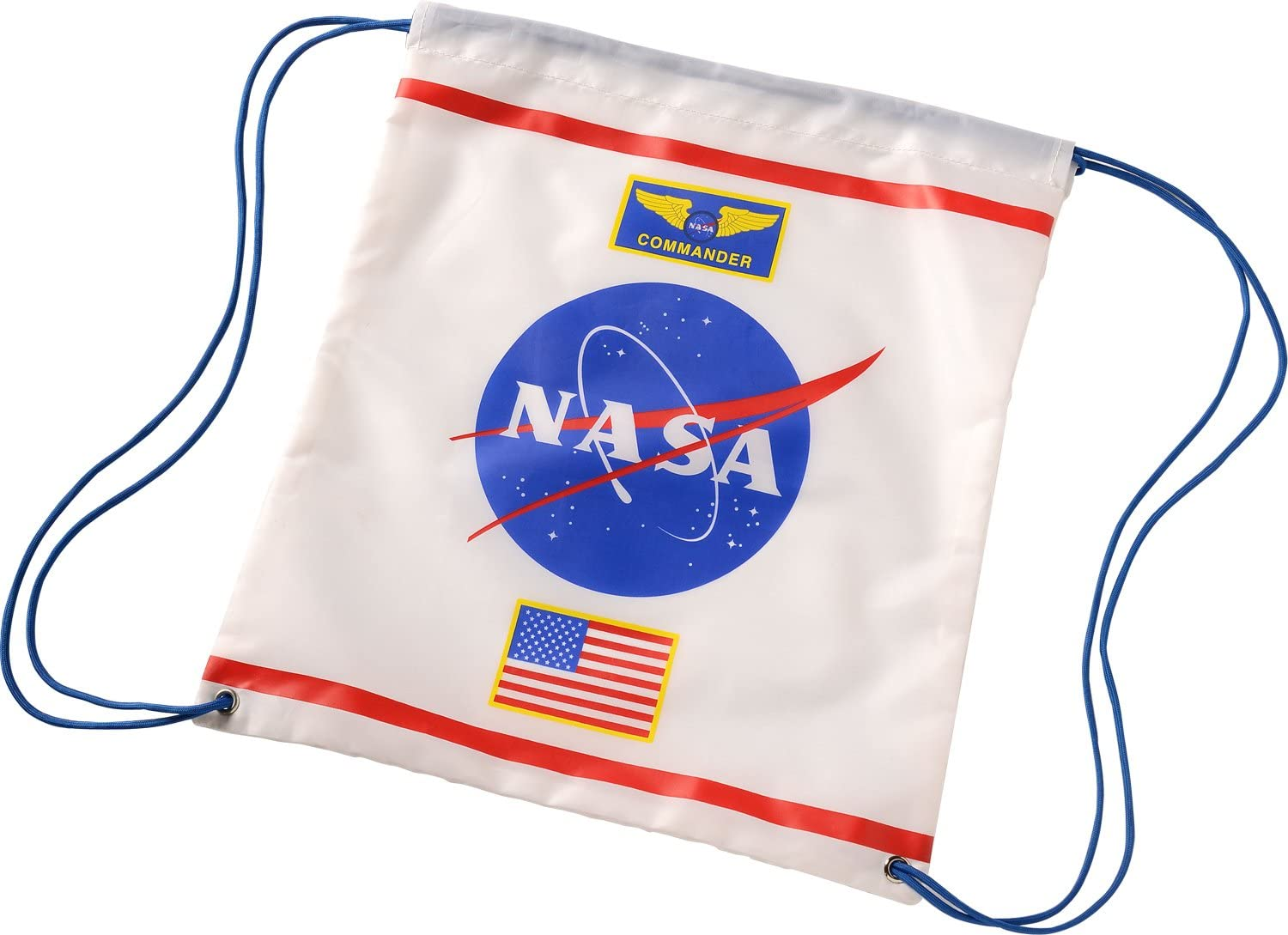 Drawstring Backpack Astronaut Space Bags