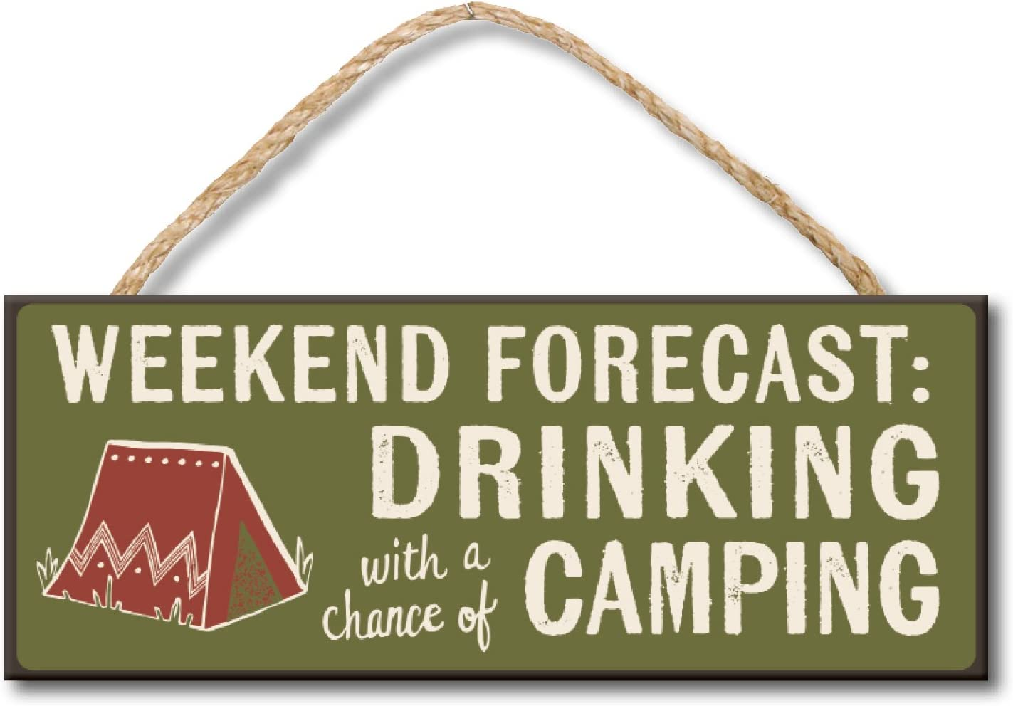 Life Needs More Campfires Skinny Wooden Sign My Word