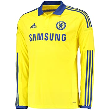 Adidas 2014-15 Chelsea Away Long Sleeve Football Soccer T-Shirt Camiseta: Amazon.es: Deportes y aire libre