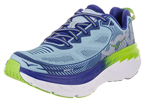 HOKA ONE One Bondi 5 - Zapatillas de Running para Mujer, Azul (Sky Blue/Surf The Web), 9.5 B(M) US: Amazon.es: Zapatos y complementos