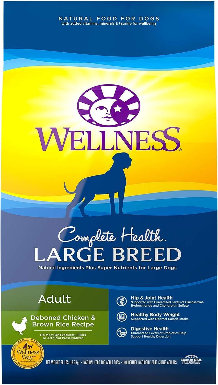 Wellness Large Breed Adult Deboned Chicken & Brown Rice